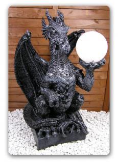 Drachenlampe Drachenleuchter Drachen Figur Deko - Vorschau 1