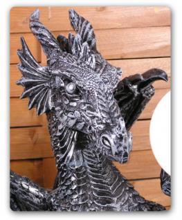 Drachenlampe Drachenleuchter Drachen Figur Deko - Vorschau 2