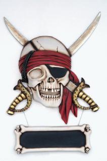 Pirat Seeräuber Dekofigur Wanddekoration - Vorschau 1