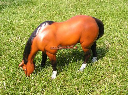 Pferd Pferde Figur Statue Skulptur Deko Dekoration