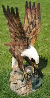 Adler Weißkopfadler als Dekofigur