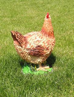 Huhn als Dekofigur oder Aufstellfigur Ostern Deko - Vorschau 2
