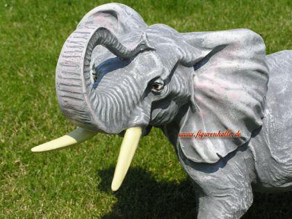 Elefant als Figur Skulptur Statue Deko Afrika Tier