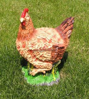 Huhn als Dekofigur oder Aufstellfigur Ostern Deko