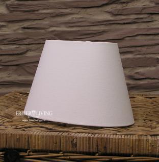 Lampenschirm oval weiß e27 25cm