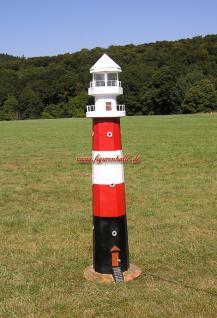 Leuchtturm Roter Sand Deko Maritm Figur Meeres - Vorschau 1