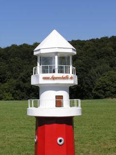 Leuchtturm Roter Sand Deko Maritm Figur Meeres - Vorschau 3