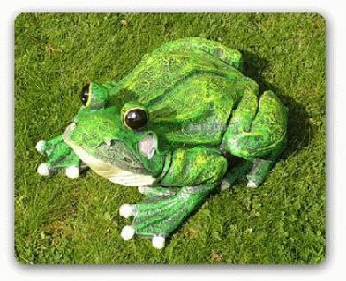 Frosch als Dekofigur für Garten und Gartenteich - Vorschau 2