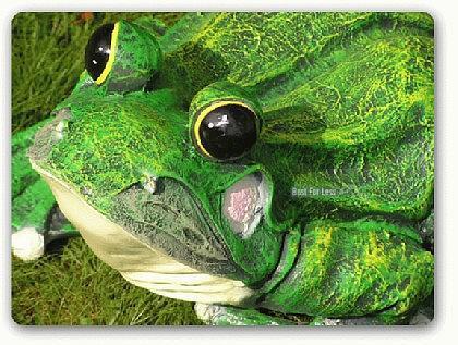 Frosch als Dekofigur für Garten und Gartenteich - Vorschau 3