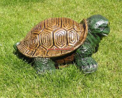 Lustige Gartenschildkröte Schildkröte Deko Garten - Vorschau 3