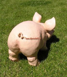 Schwein Ferkel als Dekofigur Statue - Vorschau 4