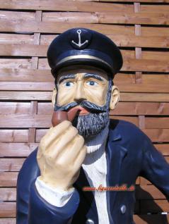 Kapitän aus Fass Figur Statue Skulptur Deko Maritim Dekoration - Vorschau 2