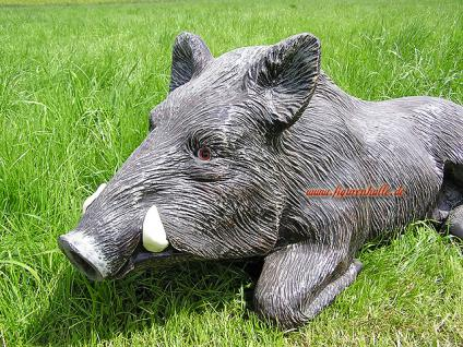 Wildschwein als Dekofigur für Haus und Garten - Vorschau 2