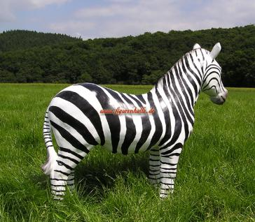 Zebra Figur Dekoration Statue Skulptur - Vorschau 5