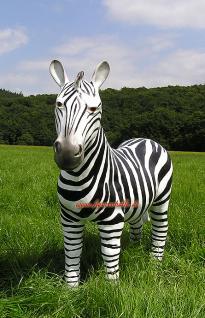 Zebra Figur Dekoration Statue Skulptur - Vorschau 2