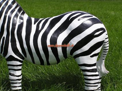 Zebra Figur Dekoration Statue Skulptur - Vorschau 3