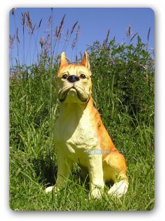 Boxer Figur Tierfigur Dekofigur Aufstellfigur Deko - Vorschau 2
