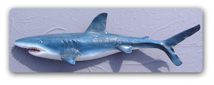Hai Haifisch Lebensgroß Figur Skulptur Statue Deko