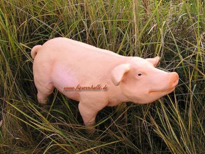 Rosa Schwein als Figur und Werbeaufsteller - Vorschau 1