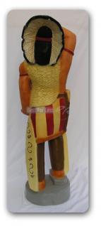 Häuptling Indianer Figur Dekorationsfigur Statue - Vorschau 3