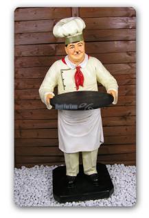 Dick von Dick und Doof Figur Koch Werbefigur