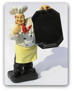 Koch Werbefigur als Werbeaufsteller für Gastro - Vorschau 1