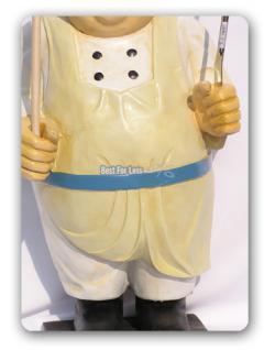 Koch Werbefigur für Imbisswagen oder Restaurant - Vorschau 3
