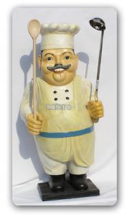 Koch Werbefigur für Imbisswagen oder Restaurant - Vorschau 2