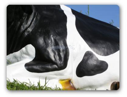 Kuh liegend als Dekofigur Figur Aufstellfigur - Vorschau 4