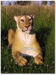 Liegender Löwe als Deko- oder Werbefigur - Vorschau 1