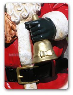 Lebensgroße Weihnachtsmann Figur Dekofigur. - Vorschau 3