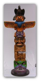 Indianer Marterpfahl als Dekofigur - Vorschau 3