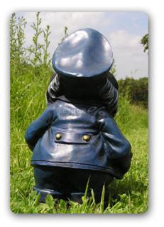 Maulwurf als Kapitän Seefahrer Dekofigur Figur - Vorschau 3