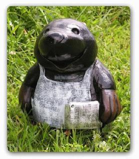 Maulwurf Gartenfigur Dekofigur statue - Vorschau 1