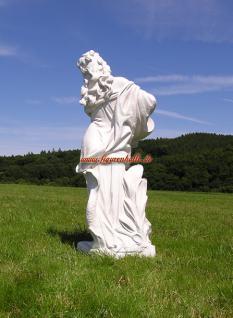 Frau Nackt Gartenfigur Skulptur Statue weiß Deko Garten Schloss - Vorschau 5