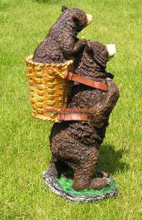 Braun Bär Dekofigur Aufstellfigur Figur Deko Imker - Vorschau 3