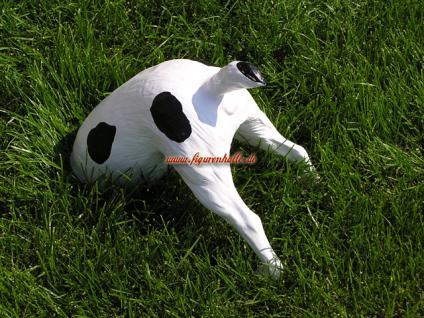 Buddelnder halber Hund Figur Garten-Figur Deko