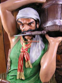 Pirat Seeräuber Figur Aufstellfigur Lebensgroß Deko Statue