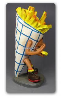 Pommes Tüte Figur Werbefigur und Kundenstopper - Vorschau 2