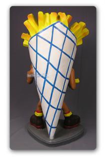 Pommes Tüte Figur Werbefigur und Kundenstopper - Vorschau 4