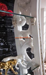 Antik Barock Vitrine Regal Rokoko Deko Dekoration Möbel - Vorschau 3