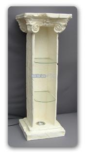 Säule Vitrine Dekomöbel Antik optik Dekosäule Deko - Vorschau 2