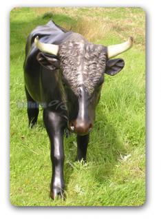 Schwarzer Stier als Dekofigur oder Werbefigur - Vorschau 2