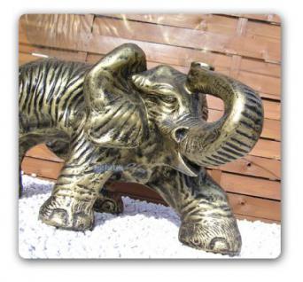 Elefant Afrika Figur Wonzimmertisch Couchtisch - Vorschau 3