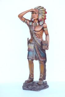 Tabak Indianer als Aufstellfigur oder Dekofigur Figur Statue Skulptur Dekoration Fan Artkel