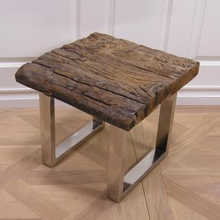 Beistelltisch massifholz Schwemmholz Möbel Tisch
