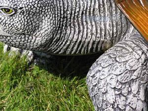 Schildkröte als Dekofigur für den Garten Figur - Vorschau 3