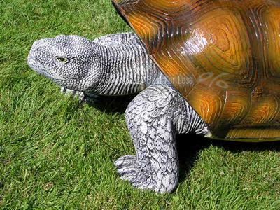 Schildkröte als Dekofigur für den Garten Figur - Vorschau 2