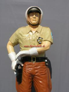 US Cop Polizist Lebensgroß Figur Statue Skulptur Werbefigur