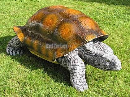Schildkröte als Dekofigur für den Garten Figur - Vorschau 1